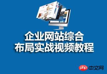 企业网站综合布局实战视频教程