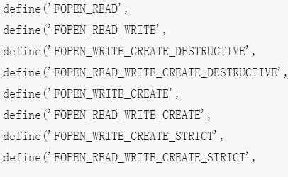 关于CI框架源码的阅读以及系统常量文件constants.php配置的分析
