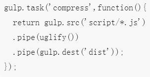 基于Node.js的JavaScript项目构建工具gulp的使用方法