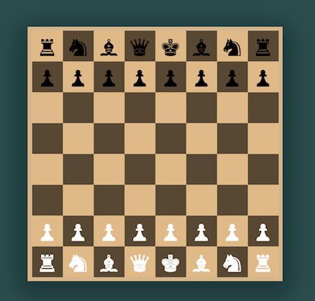 如何用纯CSS实现一副国际象棋