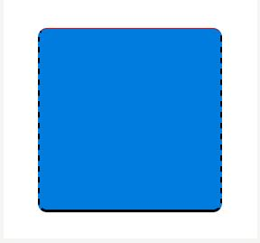 如何使用Css实现圆角边框的效果
