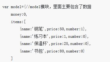 AngularJs应用:实现类似购物页面的一个小例子(附代码)