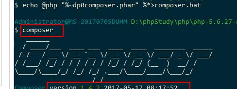 php配置composer的方法步骤(图文)