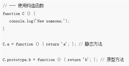 js中的类向传统类模式转变的构造函数详解(附示例)