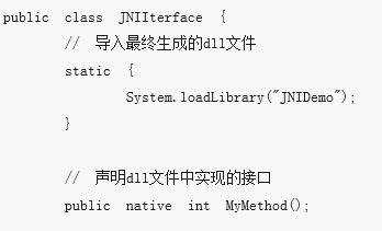 java中JNI的简单使用方法介绍(详细)