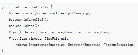 java中Future与FutureTask之间的关系及使用(附代码)
