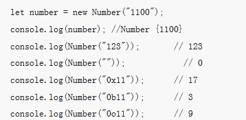 JavaScript中Number对象的介绍(代码示例)