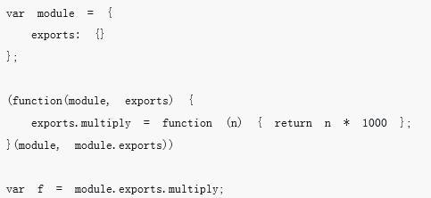 JavaScript模块规范的CommonJS、AMD和CMD的介绍