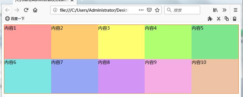网格布局中以区域和页面整体的宽度的比率指定网格的宽度
