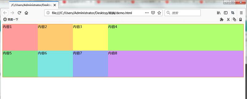 网格布局中创建响应显示区域宽度的网格(px和fr的混合网格)