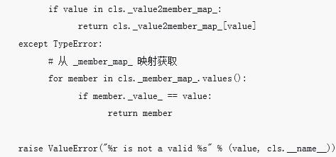 Python中enum模块源码的详细分析(代码示例)