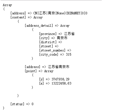 php如何根据ip获取其实际地址(附示例)