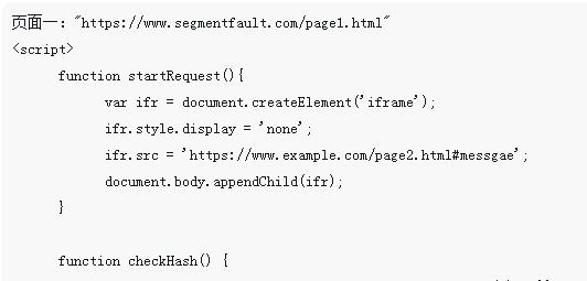 JavaScript跨域的解决方式总结(代码)