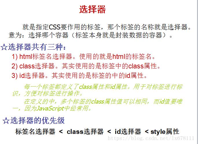 CSS选择器有哪些?CSS选择器优先级判定