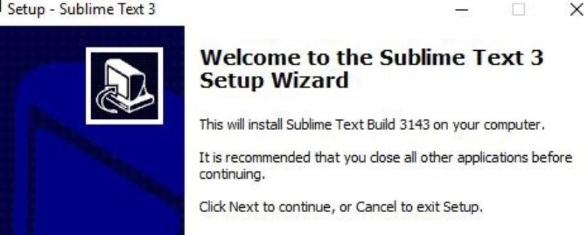 怎么在Windows下安装Sublime Text3