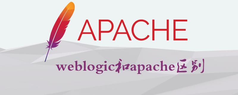 weblogic和apache區別