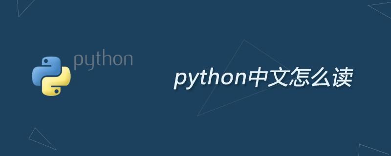 python中文怎么讀