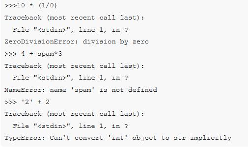 python3异常与错误有什么不一样吗?(实例解析)
