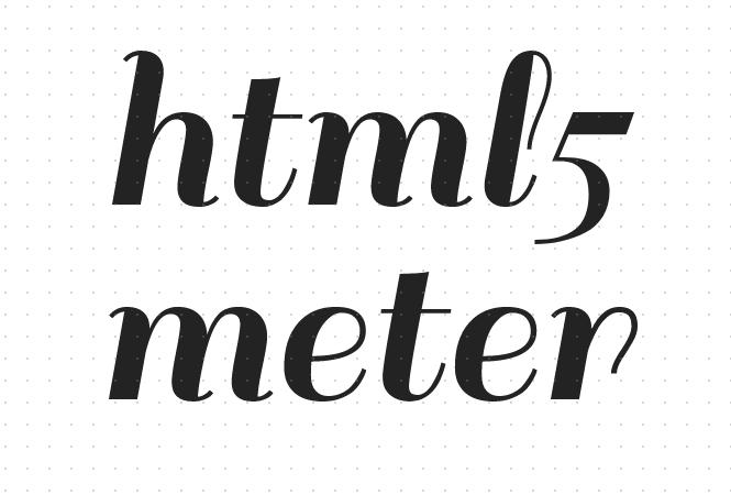 html5 meter标签是什么意思?html5 meter度量衡如何改变颜色详解