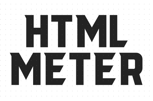 html5 meter标签是什么意思?html5 meter标签的用法及属性介绍