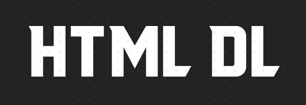 html dl标签作用是什么?html dl标签的属性介绍和使用方法详解