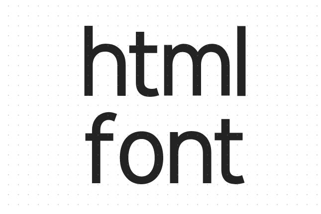 html font标签怎么设置字体样式?利用CSS控制文字大小的方法