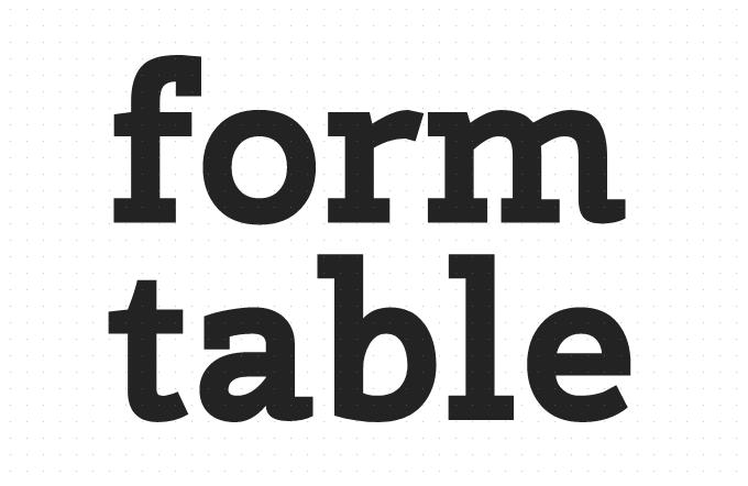 Html form标签与table标签的区别是什么?这里有说明!