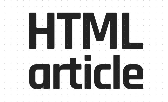 Html article标签有什么用?Html article标签的使用方法介绍