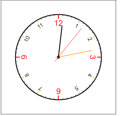 "html5如何使用canvas绘制""钟表""图案?(代码实例)"