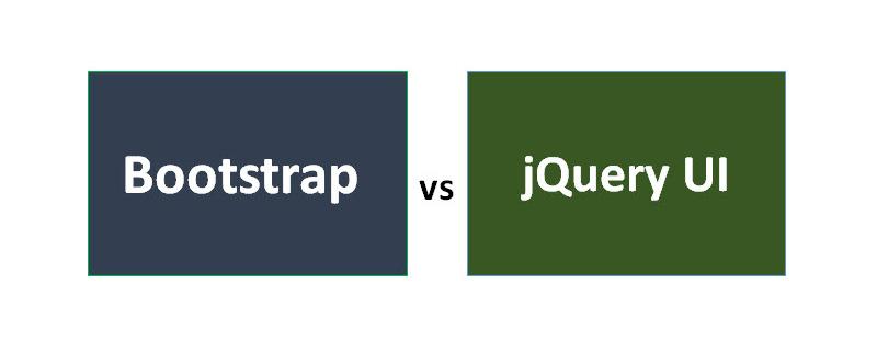 Bootstrap和JQuery UI之间的简单比较