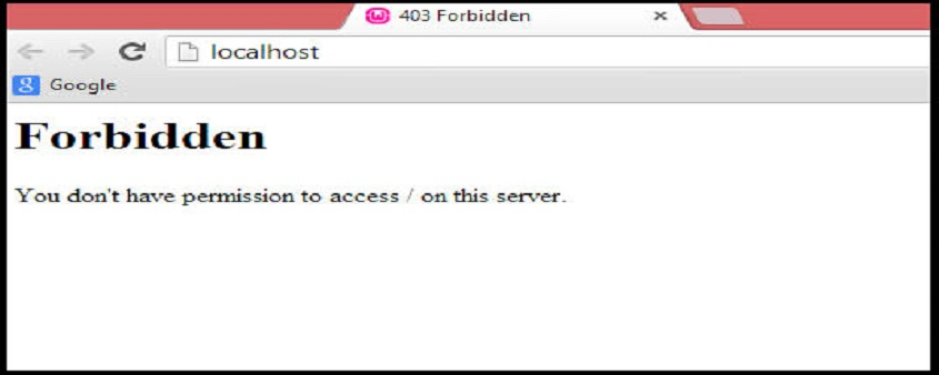 403 forbidden是什么意思