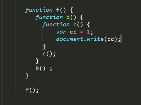 js闭包与作用域链是什么意思?js闭包与作用域链详解