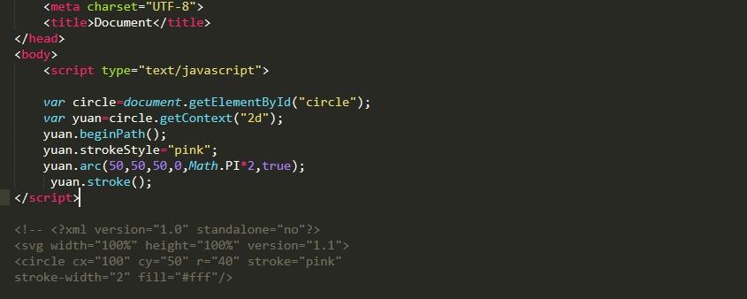 HTML5中canvas与SVG有什么区别
