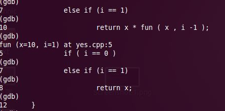 gdb调试php轻松找到当前执行的代码
