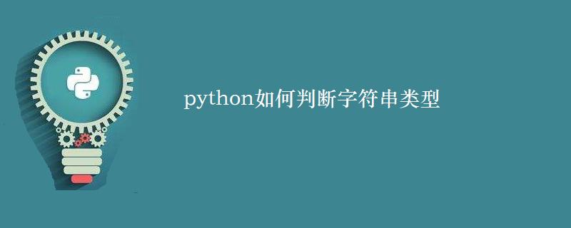 python如何判斷字符串類型