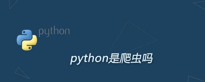 python是爬蟲嗎