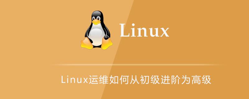 Linux運維如何從初級進階為高級