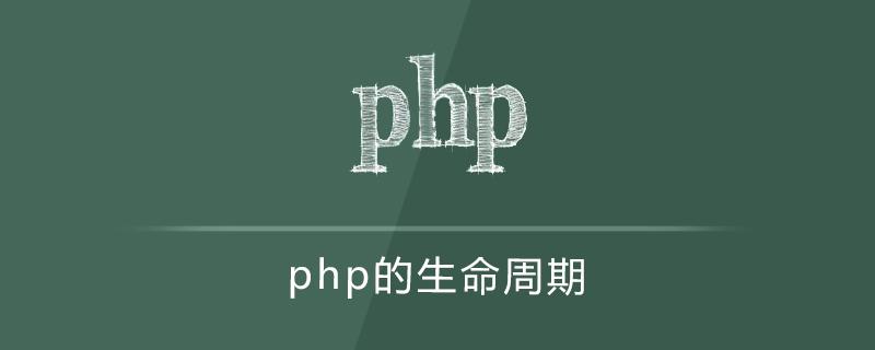 php 的生命周期