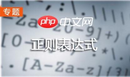 php正则表达式教程:正则表达式从入门到精通