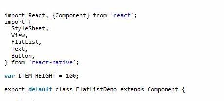 ReactNative之FlatList的具体使用方法介绍-PHP中文网