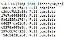 ubuntu下在docker中安装mysql5.6实例详解