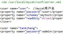 mysql 中间件mycat安装与使用方法实例分享