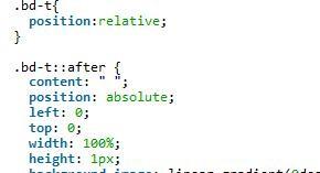 css3做0.5px的细线实例分享