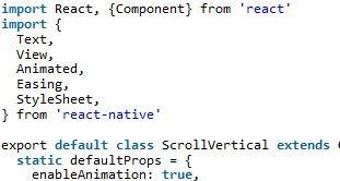 React Native竖向轮播组件的封装详解