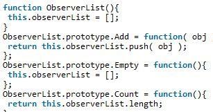 JavaScript观察者模式实例详解