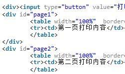 css分页打印实例代码分享