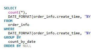 mysql获取规定时间段内统计数据的方法教程