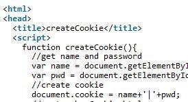 JavaScript读取和写入cookie实例教程