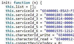 微信小程序实现蓝牙链接的代码