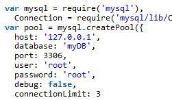 Node.js实现mysql连接池使用事务自动回收连接的方法